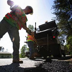 Sidewalk Asphalt Preventive Maintenance