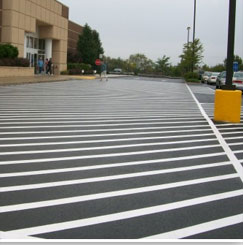 Parking Lot Line Striping requirements